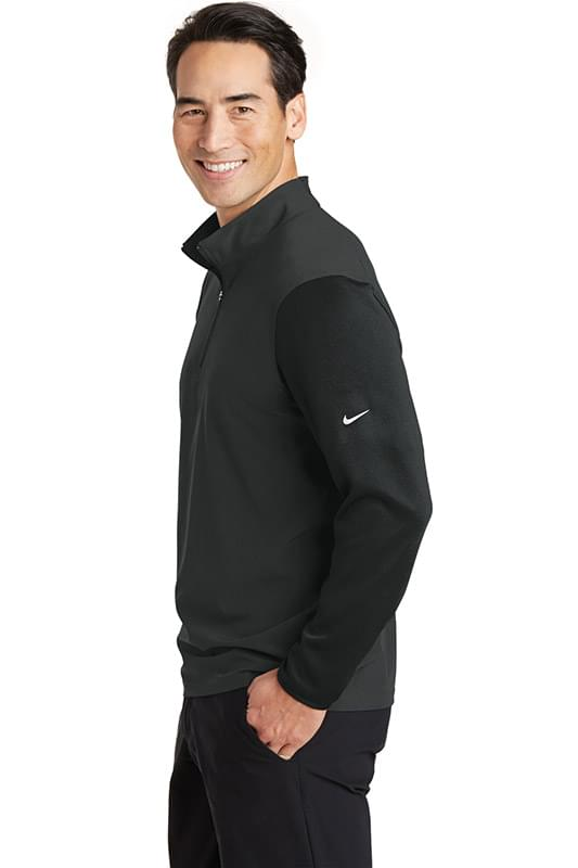 Nike Dri-FIT Fabric Mix 1/2-Zip Cover-Up.  746102