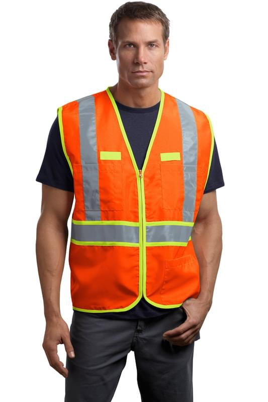 CornerStone ®  - ANSI 107 Class 2 Dual-Color Safety Vest. CSV407