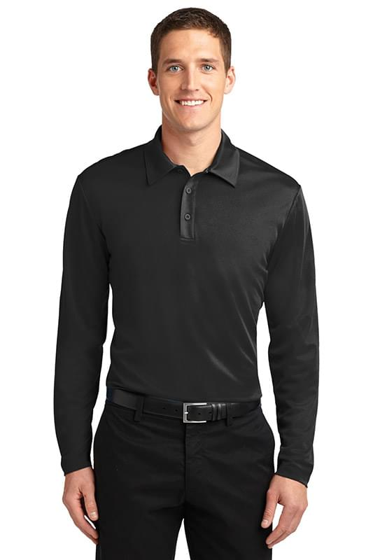 Port Authority ®  Silk Touch™ Performance Long Sleeve Polo. K540LS