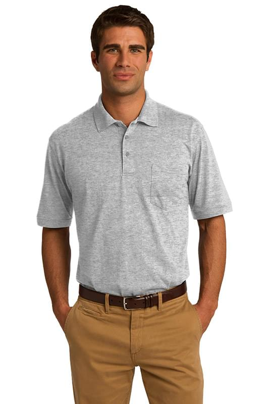 Port & Company ®  Core Blend Jersey Knit Pocket Polo. KP55P