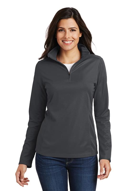 Port Authority ®  Ladies Pinpoint Mesh 1/2-Zip . L806