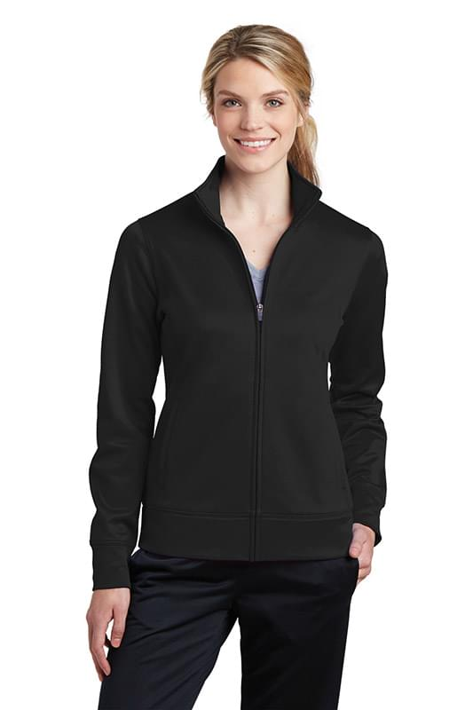 Sport-Tek ®  Ladies Sport-Wick ®  Fleece Full-Zip Jacket.  LST241