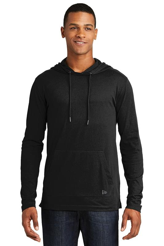 New Era  ®  Tri-Blend Performance Pullover Hoodie Tee. NEA131