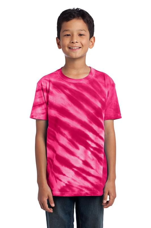 Port & Company ®  - Youth Tiger Stripe Tie-Dye Tee. PC148Y