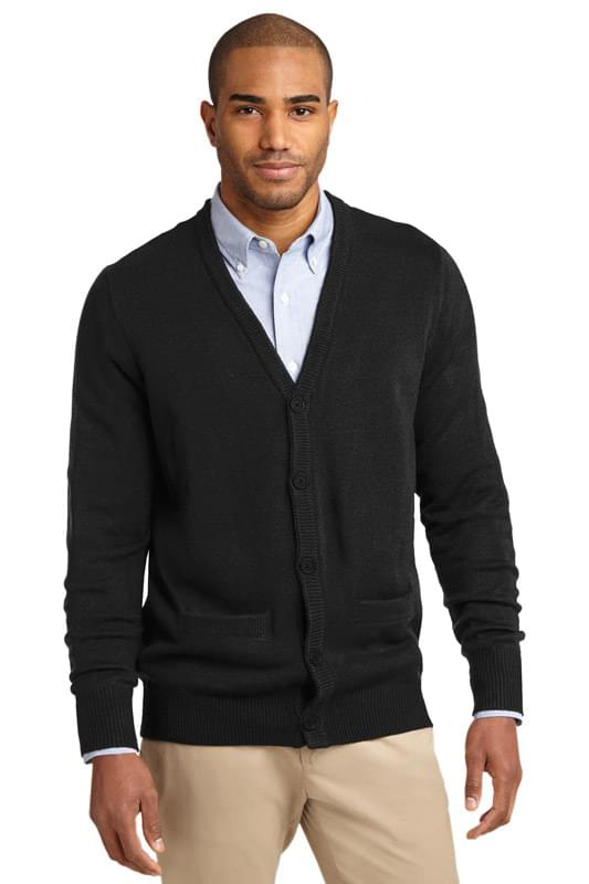 Port Authority ®  Value V-Neck Cardigan Sweater with Pockets. SW302