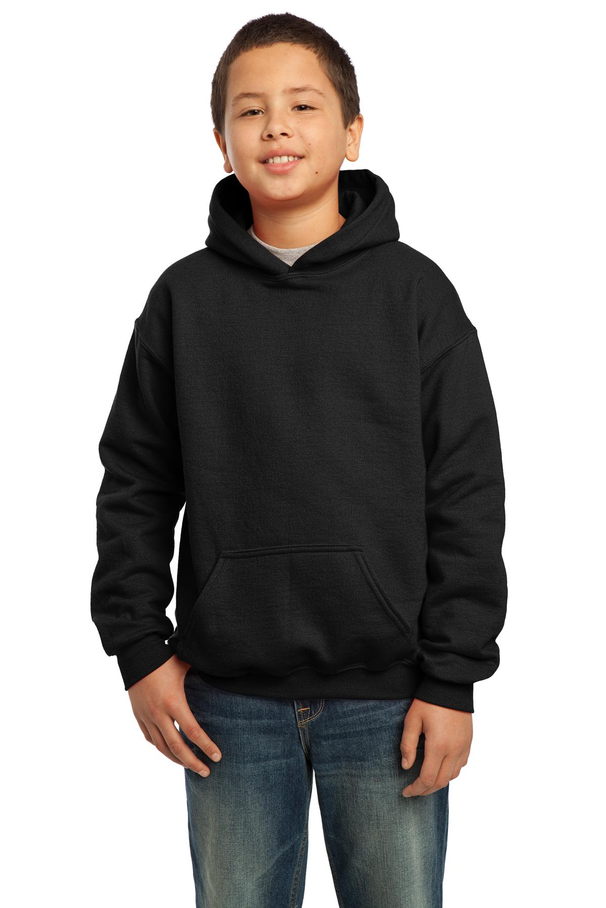 Gildan ®  - Youth Heavy Blend™ Hooded Sweatshirt. 18500B