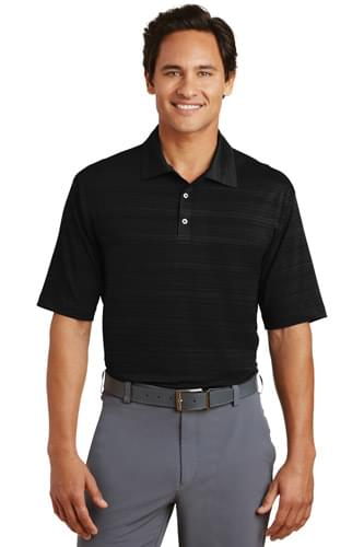 Nike Elite Series Dri-FIT Heather Fine Line Bonded Polo. 429438