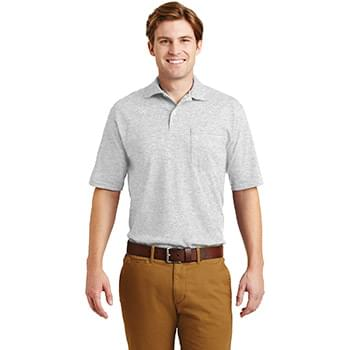 JERZEES ®  -SpotShield ™  5.6-Ounce Jersey Knit Sport Shirt with Pocket. 436MP