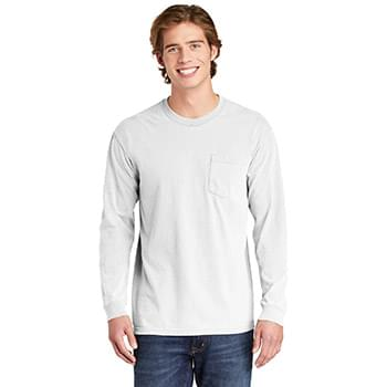 COMFORT COLORS  ®  Heavyweight Ring Spun Long Sleeve Pocket Tee. 4410