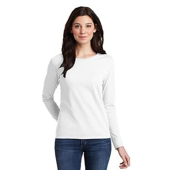 Gildan ®  Ladies Heavy Cotton ™  100% Cotton Long Sleeve T-Shirt. 5400L