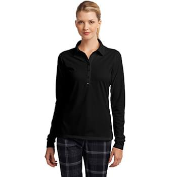 Nike Ladies Long Sleeve Dri-FIT Stretch Tech Polo. 545322