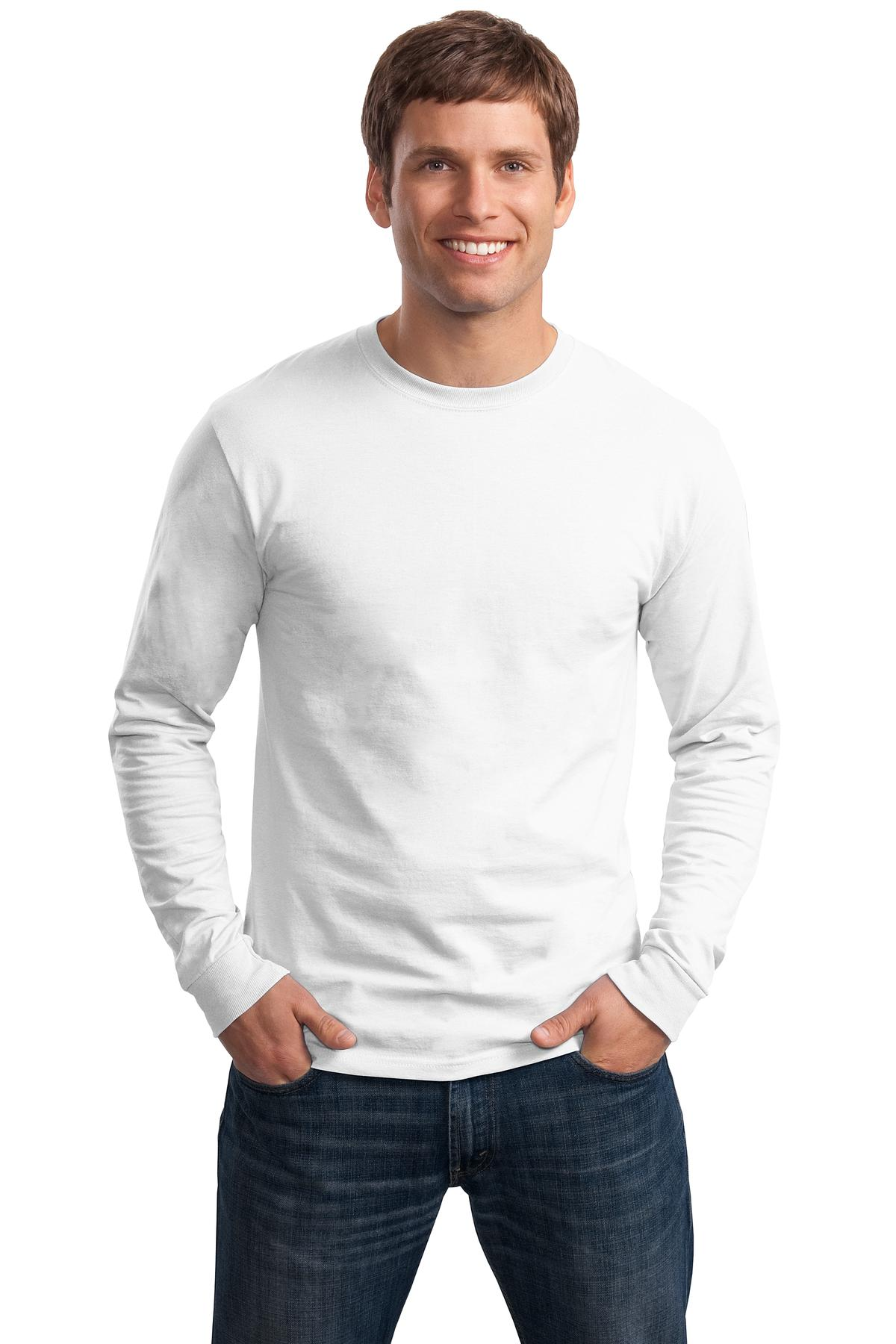 Hanes ®  - Tagless ®  100% Cotton Long Sleeve T-Shirt.  5586