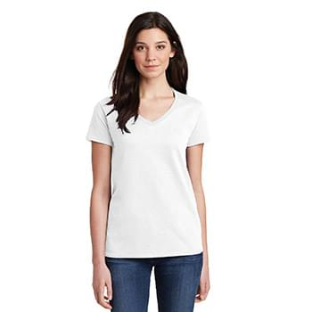 Gildan ®  Ladies Heavy Cotton ™  100% Cotton V-Neck T-Shirt. 5V00L