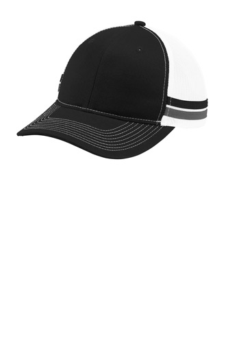 Port Authority  ®  Two-Stripe Snapback Trucker Cap. C113