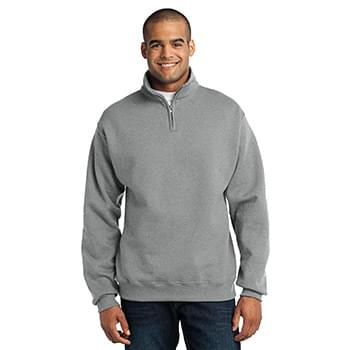 JERZEES ®  - NuBlend ®  1/4-Zip Cadet Collar Sweatshirt. 995M