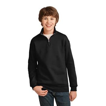 JERZEES ®  Youth NuBlend ® ; 1/4-Zip Cadet Collar Sweatshirt. 995Y