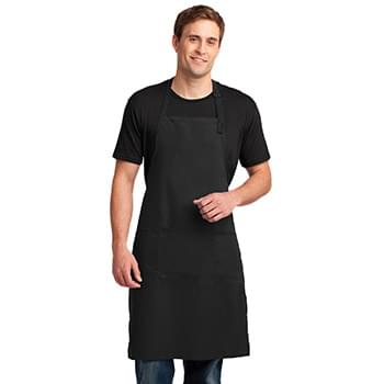 Port Authority ®  Easy Care Extra Long Bib Apron with Stain Release. A700