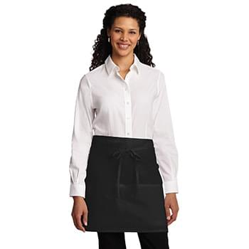 Port Authority ®  Easy Care Half Bistro Apron with Stain Release. A706