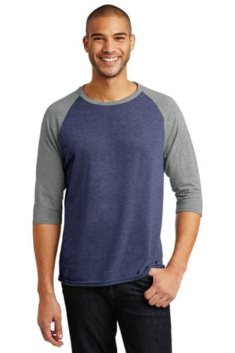 Anvil ®  Tri-Blend 3/4-Sleeve Raglan Tee. AN6755