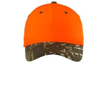 Port Authority ®  Safety Cap with Camo Brim. C804