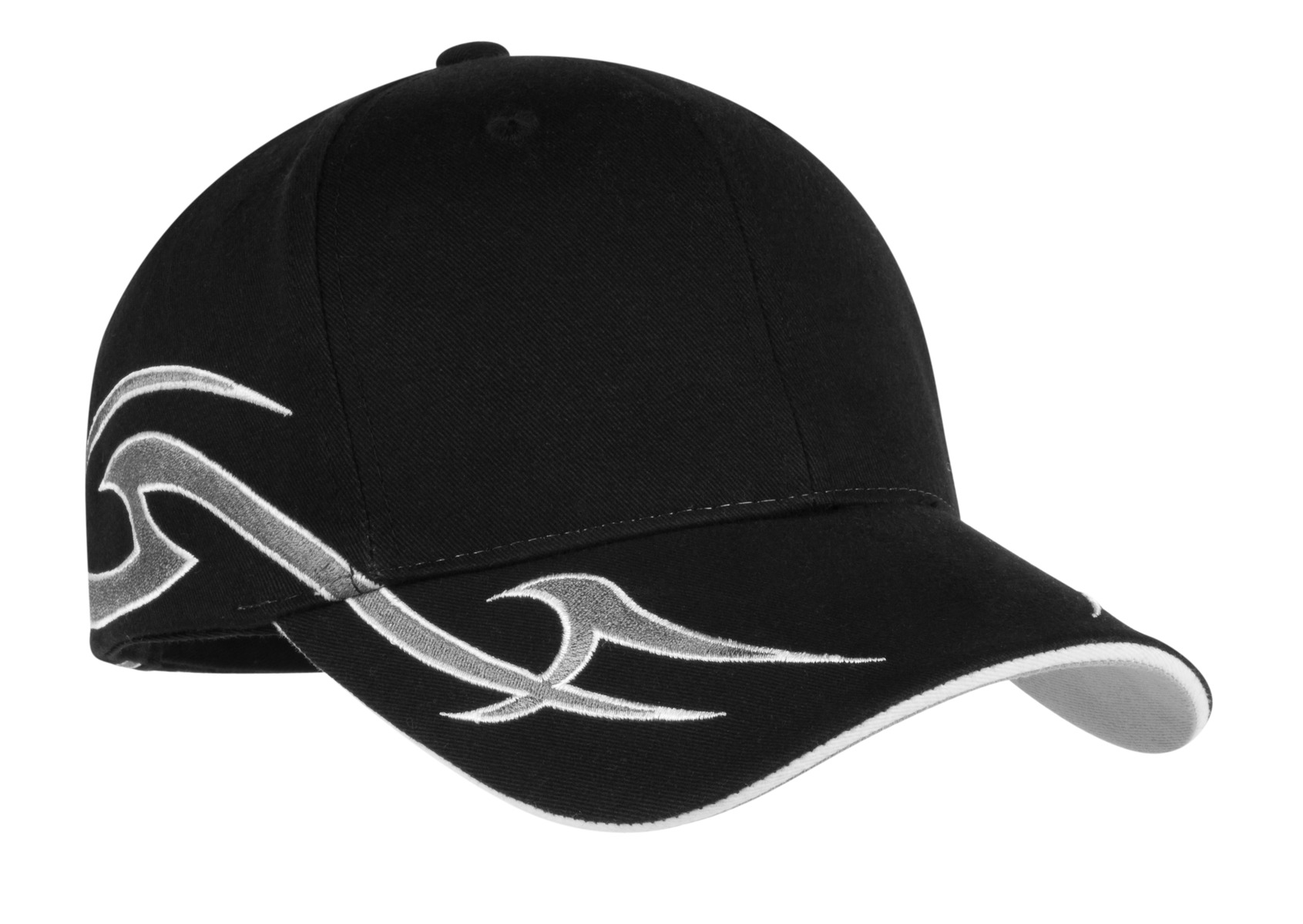 Port Authority ®  Racing Cap with Sickle Flames.  C878