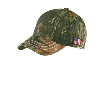 Port Authority ®  Americana Contrast Stitch Camouflage Cap. C909