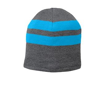 Port & Company ®  Fleece-Lined Striped Beanie Cap. C922