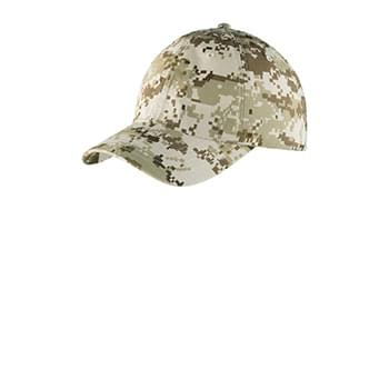 Port Authority ®  Digital Ripstop Camouflage Cap. C925