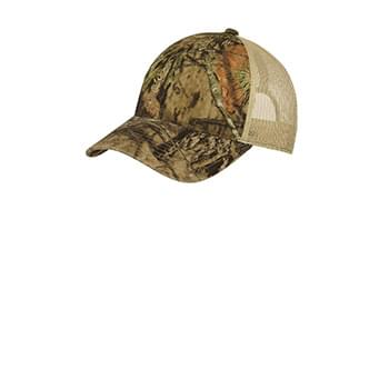 Port Authority ®  Unstructured Camouflage Mesh Back Cap. C929