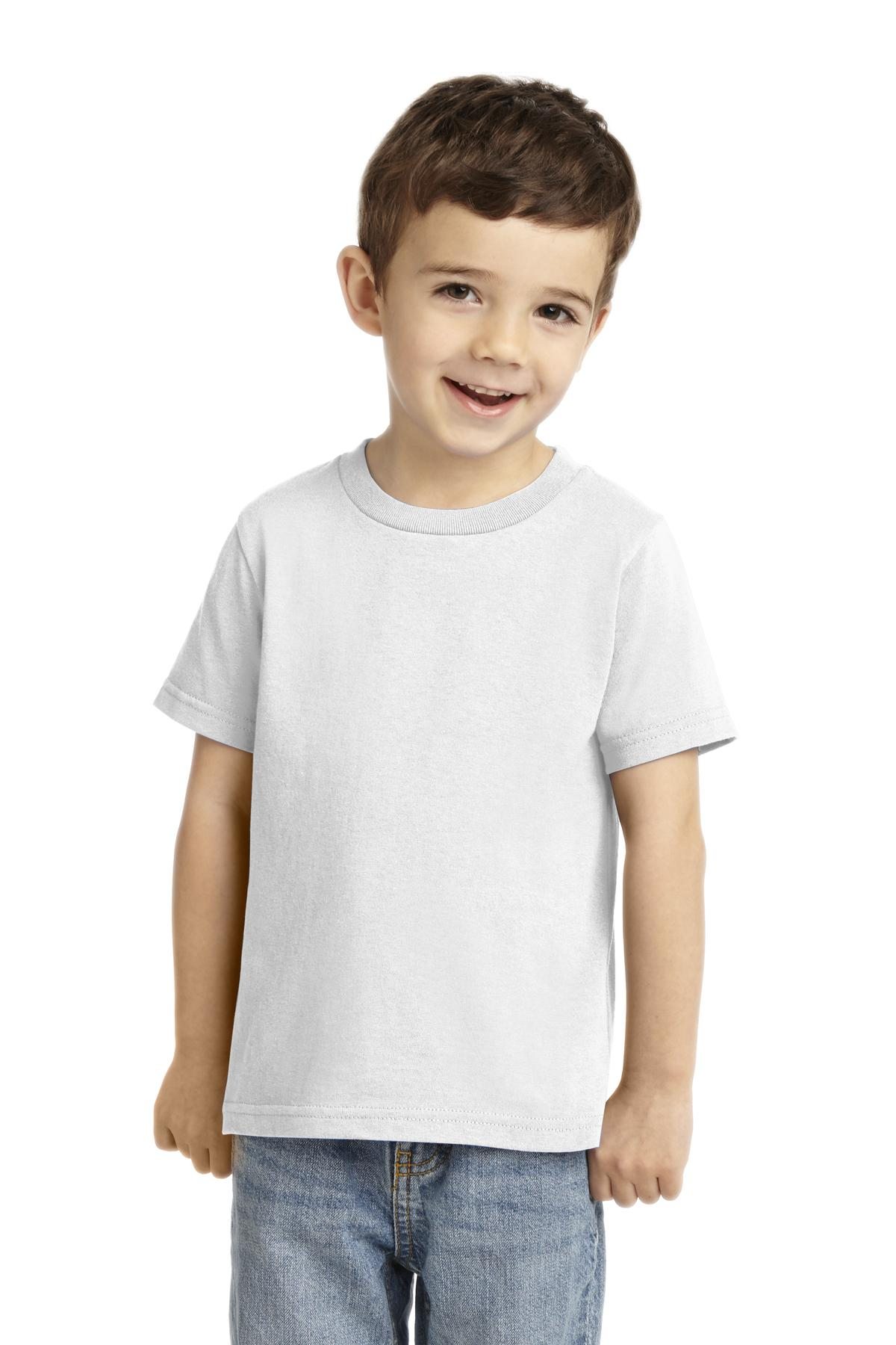Port & Company ®  Toddler Core Cotton Tee. CAR54T
