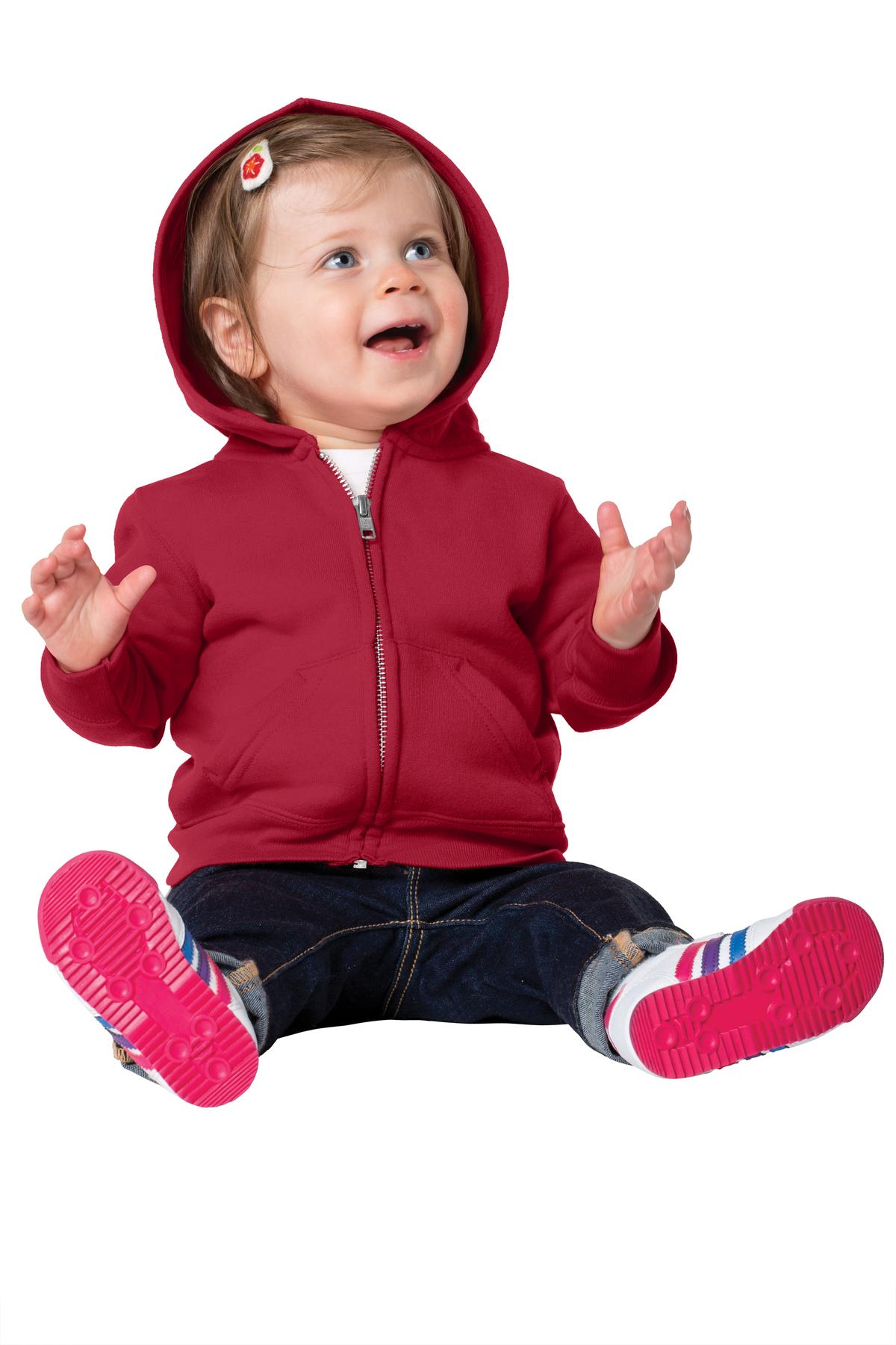 Precious Cargo ®  Infant Full-Zip Hooded Sweatshirt. CAR78IZH