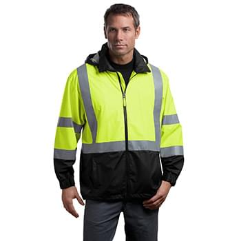 CornerStone ®  - ANSI 107 Class 3 Safety Windbreaker. CSJ25