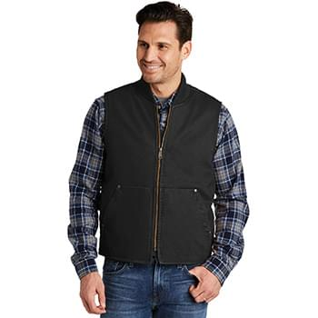 CornerStone ®  Washed Duck Cloth Vest. CSV40
