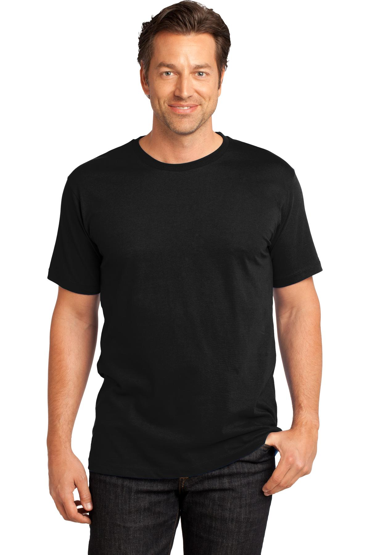 District Made ®  Mens Perfect Weight ®  Crew Tee. DT104