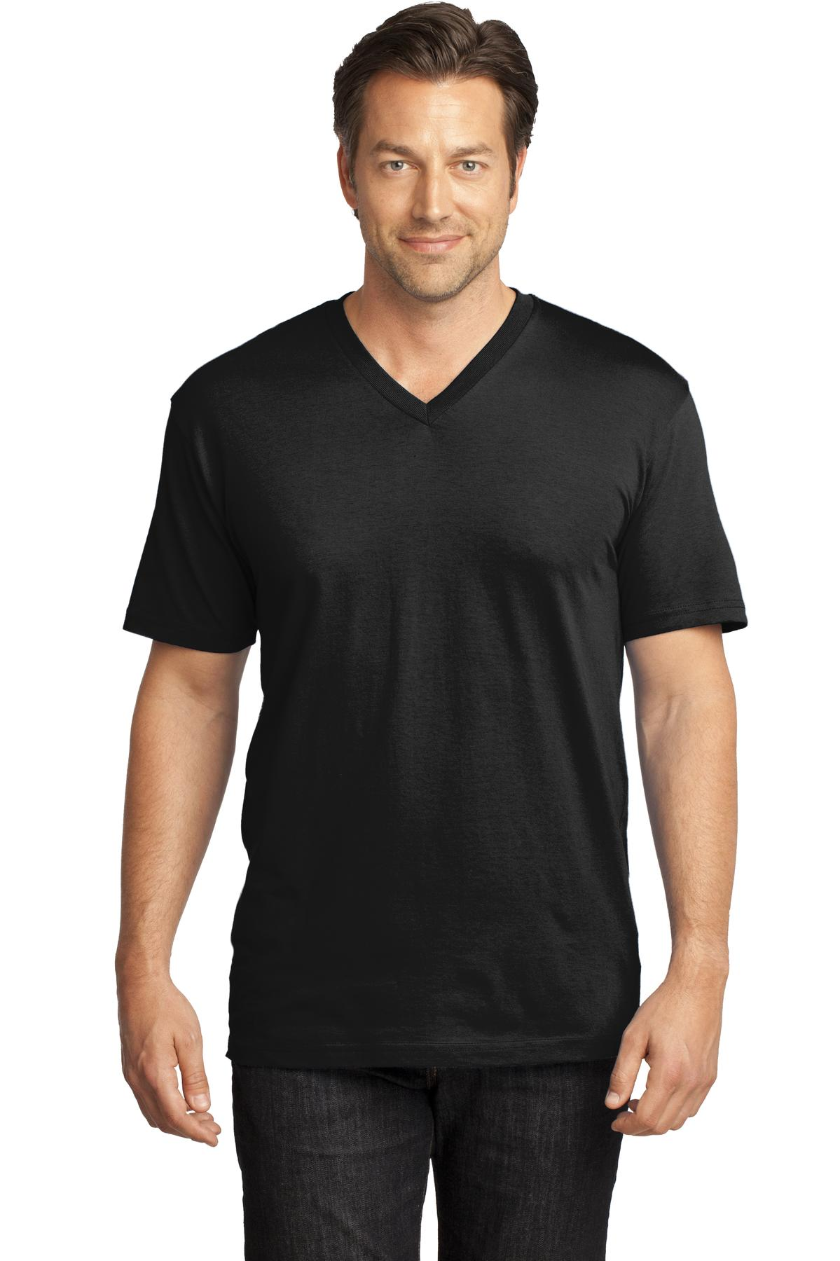District Made ®  Mens Perfect Weight ®  V-Neck Tee. DT1170