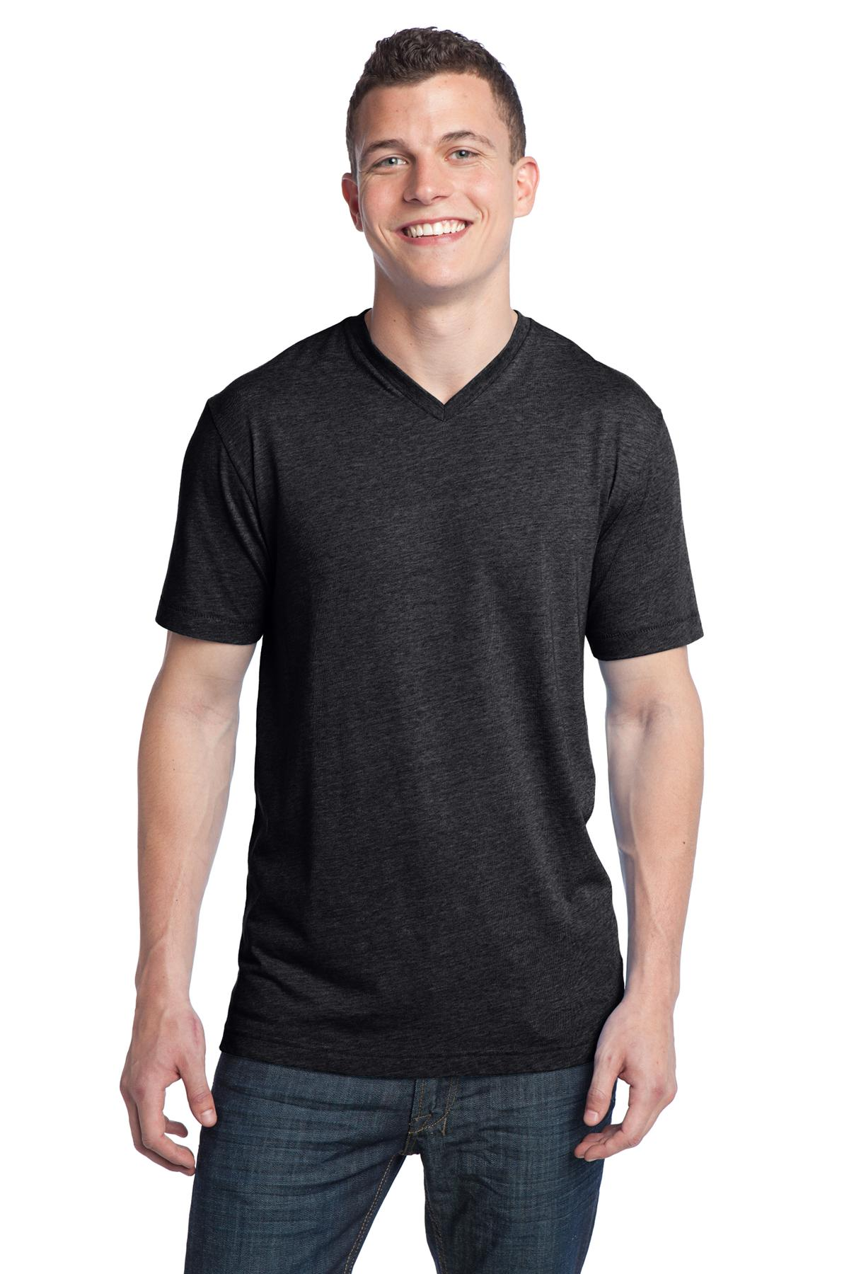 District ®  - Young Mens Tri-Blend V-Neck Tee DT142V
