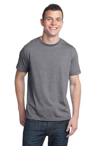 District ®  - Young Mens Tri-Blend Crewneck Tee. DT142