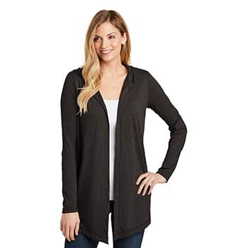 District  ®  Women's Perfect Tri  ®  Hooded Cardigan. DT156