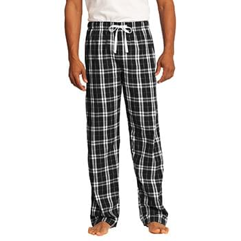 District ®  - Young Mens Flannel Plaid Pant. DT1800