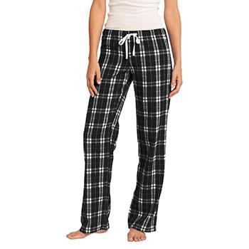 District ®  Women's Flannel Plaid Pant. DT2800