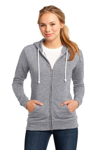 District ®  - Juniors Core Fleece Full-Zip Hoodie DT290