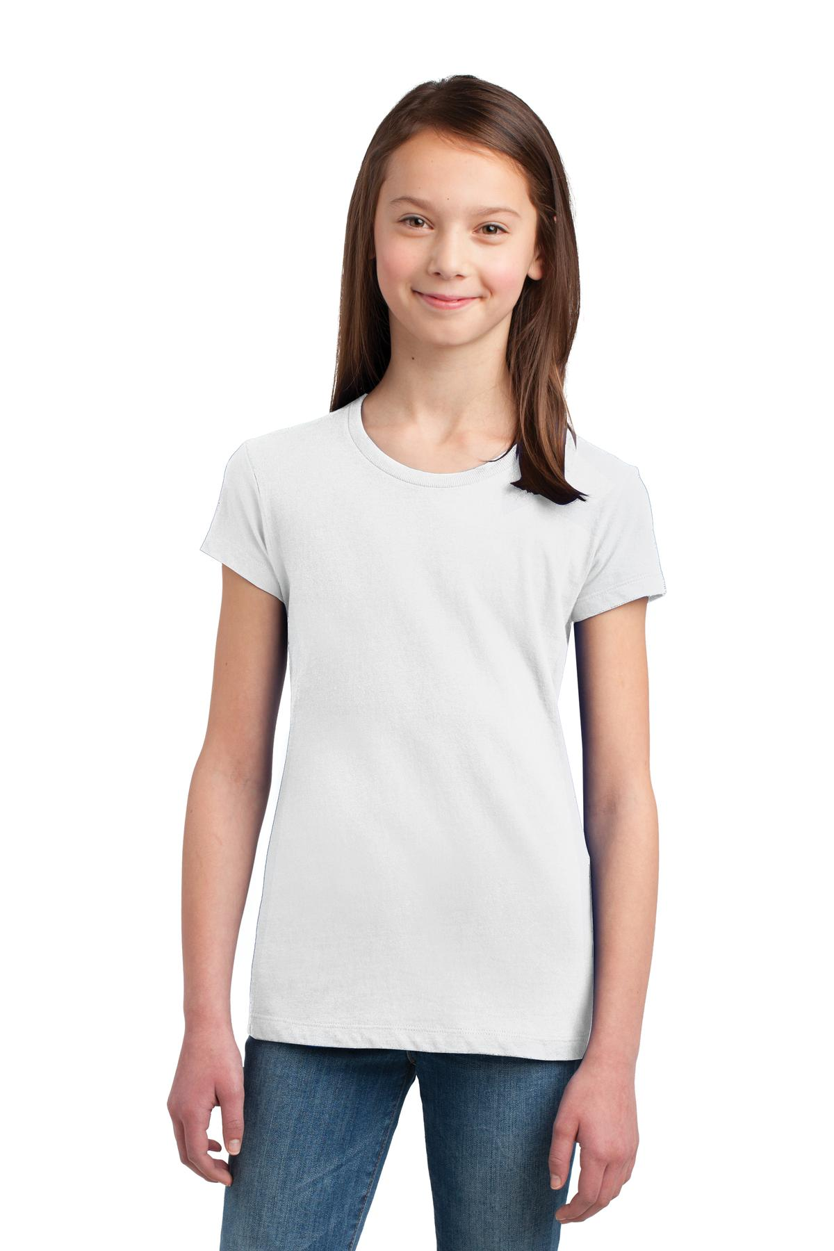 District ®  Girls The Concert Tee ® . DT5001YG