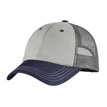 District ®  - Tri-Tone Mesh Back Cap DT616