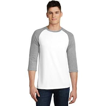 District ®  Very Important Tee ®  3/4-Sleeve Raglan. DT6210