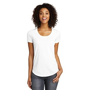 District ®  Juniors Scoop Neck Very Important Tee ® . DT6401