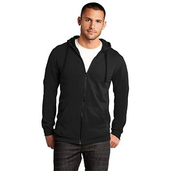 District ®  - Young Mens The Concert Fleece ®  Full-Zip Hoodie. DT800