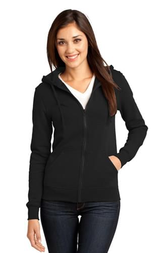 District ®  - Juniors The Concert Fleece ®  Full-Zip Hoodie. DT801