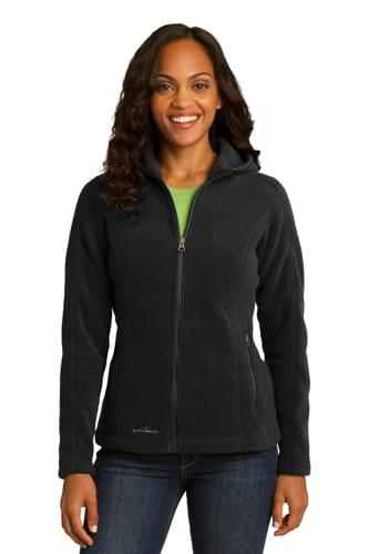 Eddie Bauer ®  Ladies Hooded Full-Zip Fleece Jacket. EB206
