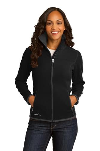 Eddie Bauer ®  Ladies Full-Zip Vertical Fleece Jacket. EB223