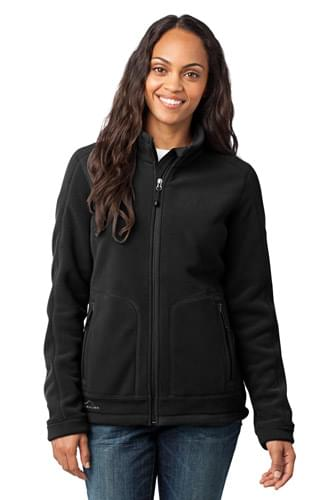 Eddie Bauer ®  - Ladies Wind-Resistant Full-Zip Fleece Jacket. EB231